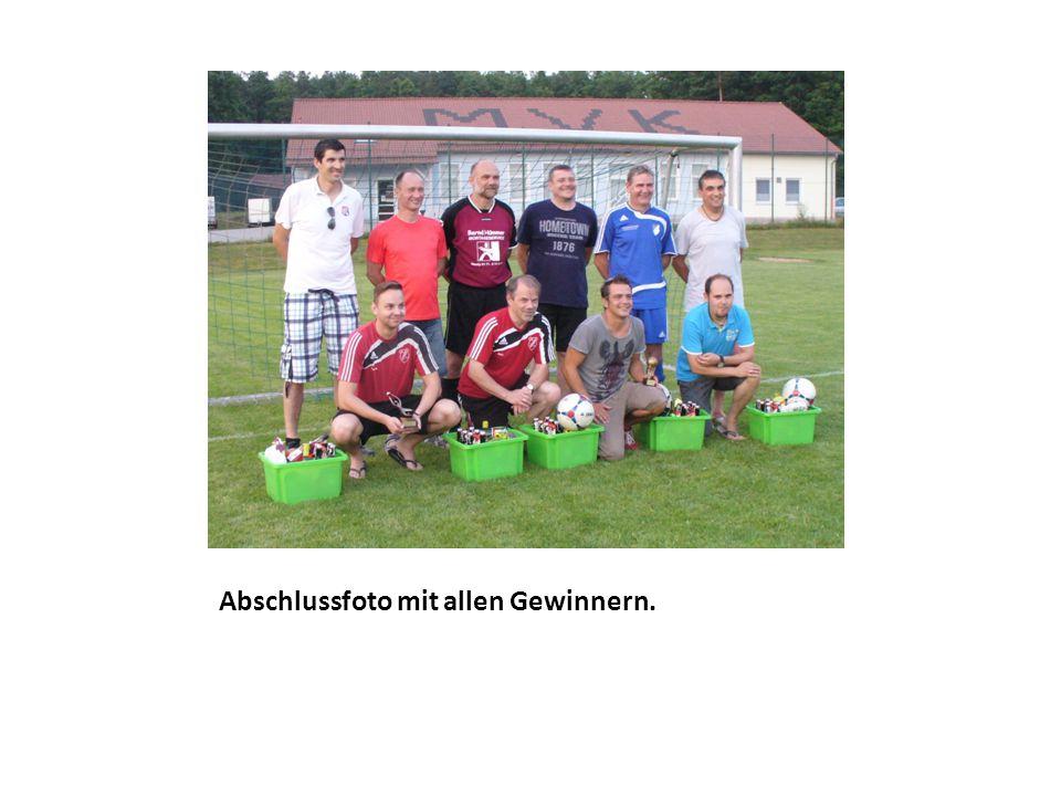Bester Torhüter/ Torschütze Torhüter: Willi Egelseer (FC Leutenbach) Torschütze: Christian Schmitt 3 Tore (SpVgg Heroldsbach)