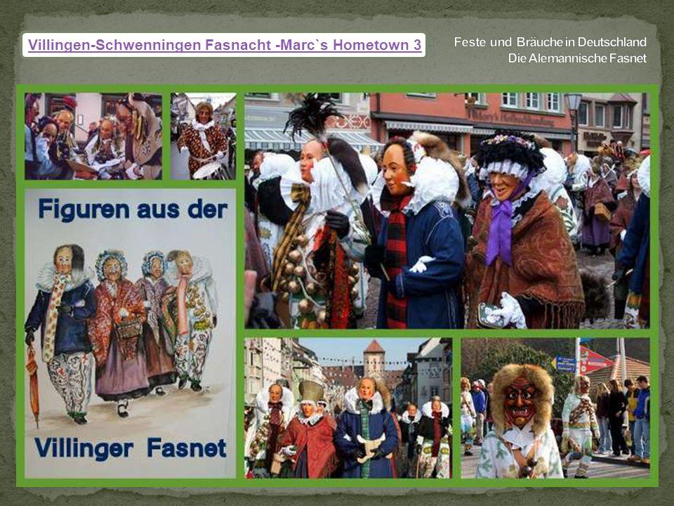 Villingen-Schwenningen Fasnacht -Marc`s Hometown 3