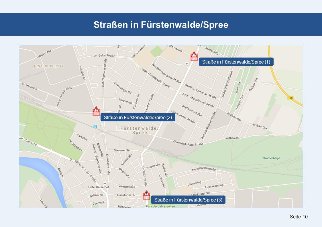 Seite 10 Straßen in Fürstenwalde/Spree Straße in Fürstenwalde/Spree (1) Straße in Fürstenwalde/Spree (2) Straße in Fürstenwalde/Spree (3)