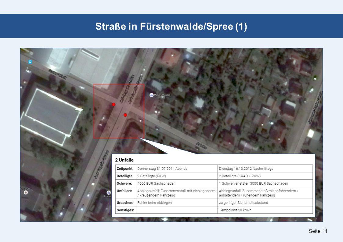 Seite 11 Straße in Fürstenwalde/Spree (1)