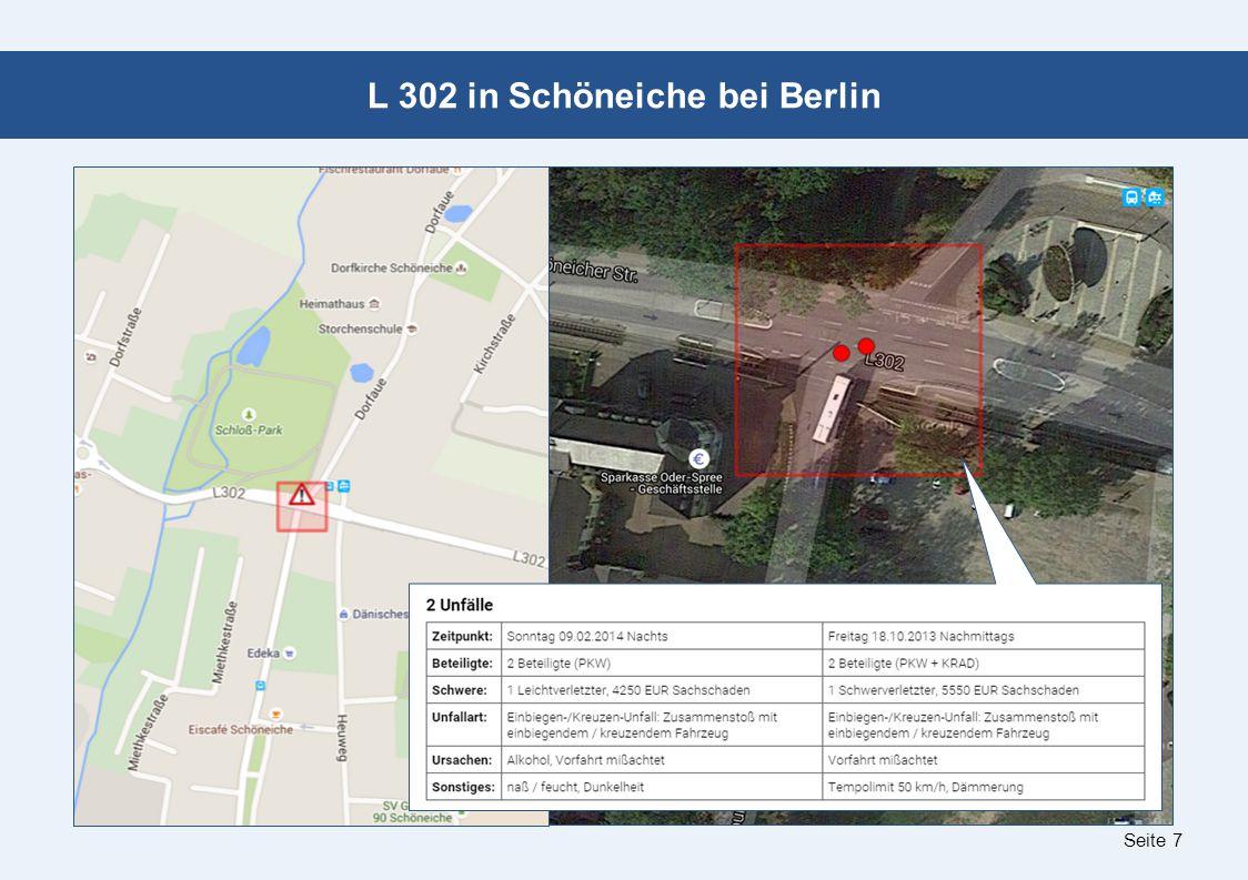 Seite 7 L 302 in Schöneiche bei Berlin