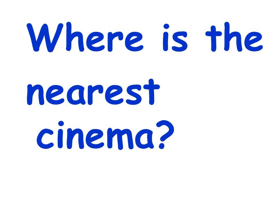 Wie komme ich zum Kino?