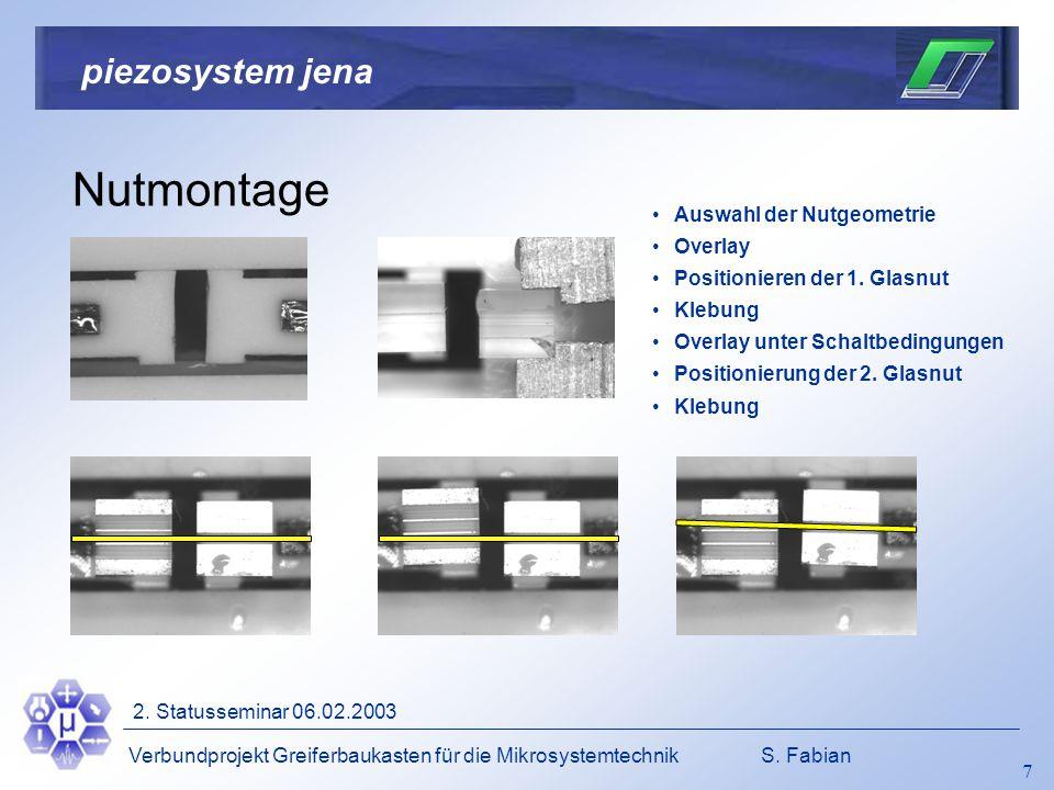 Verbundprojekt Greiferbaukasten für die MikrosystemtechnikS.