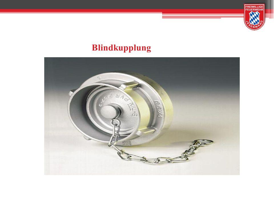 Blindkupplung