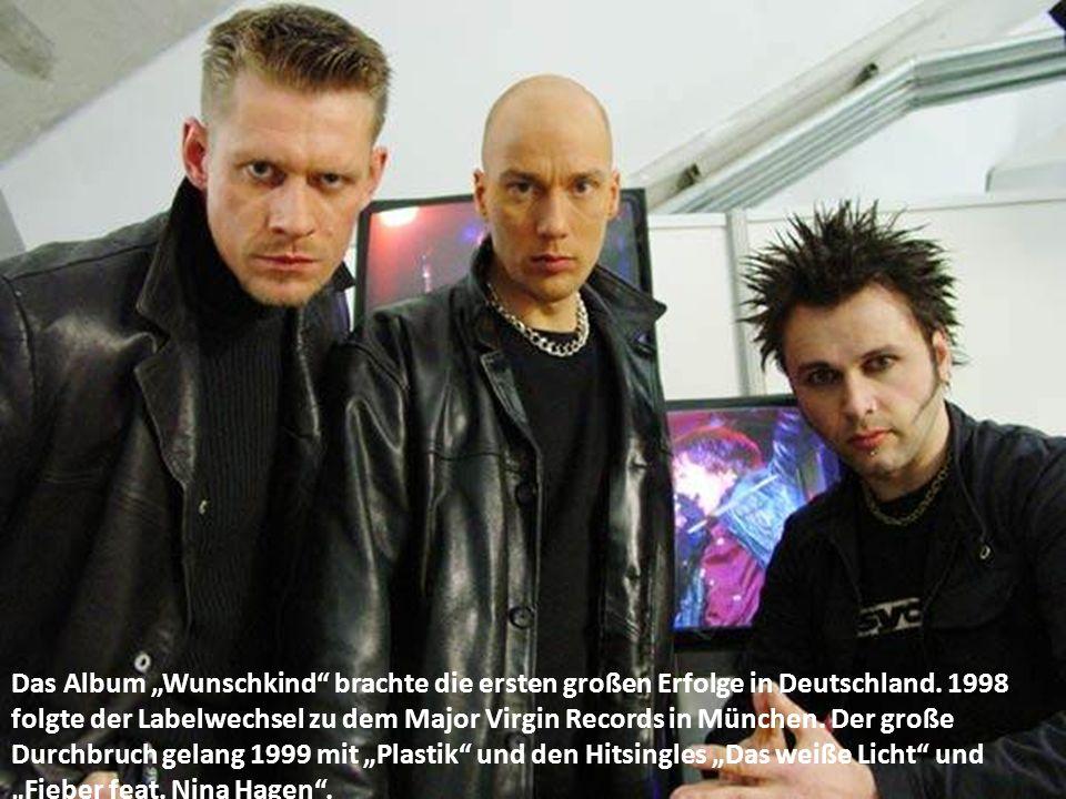 """Das Album """"Wunschkind brachte die ersten großen Erfolge in Deutschland."""