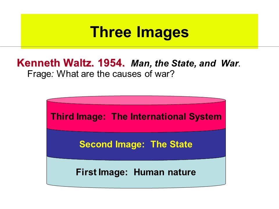 Three Images Kenneth Waltz.1954. Kenneth Waltz. 1954.