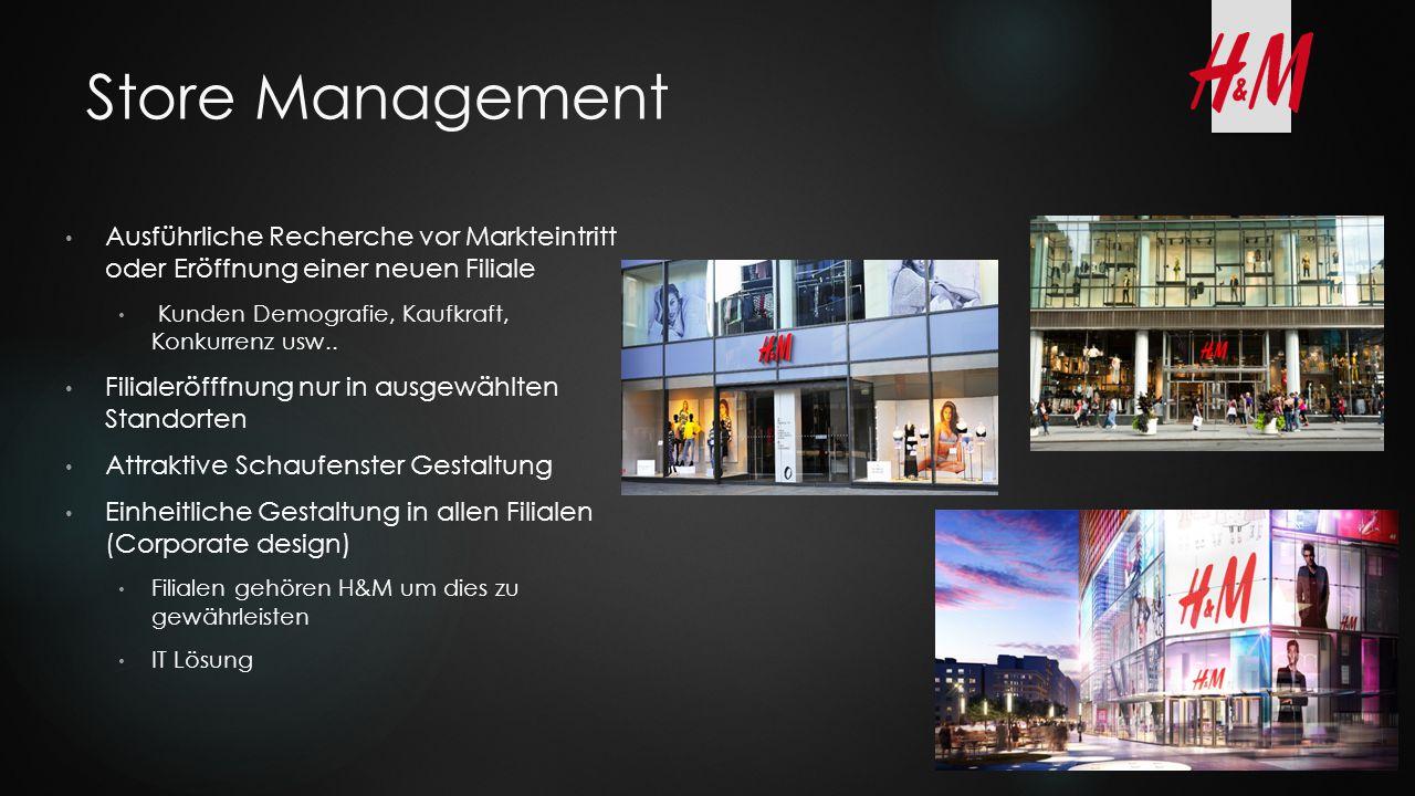 Store Management Ausführliche Recherche vor Markteintritt oder Eröffnung einer neuen Filiale Kunden Demografie, Kaufkraft, Konkurrenz usw.. Filialeröf