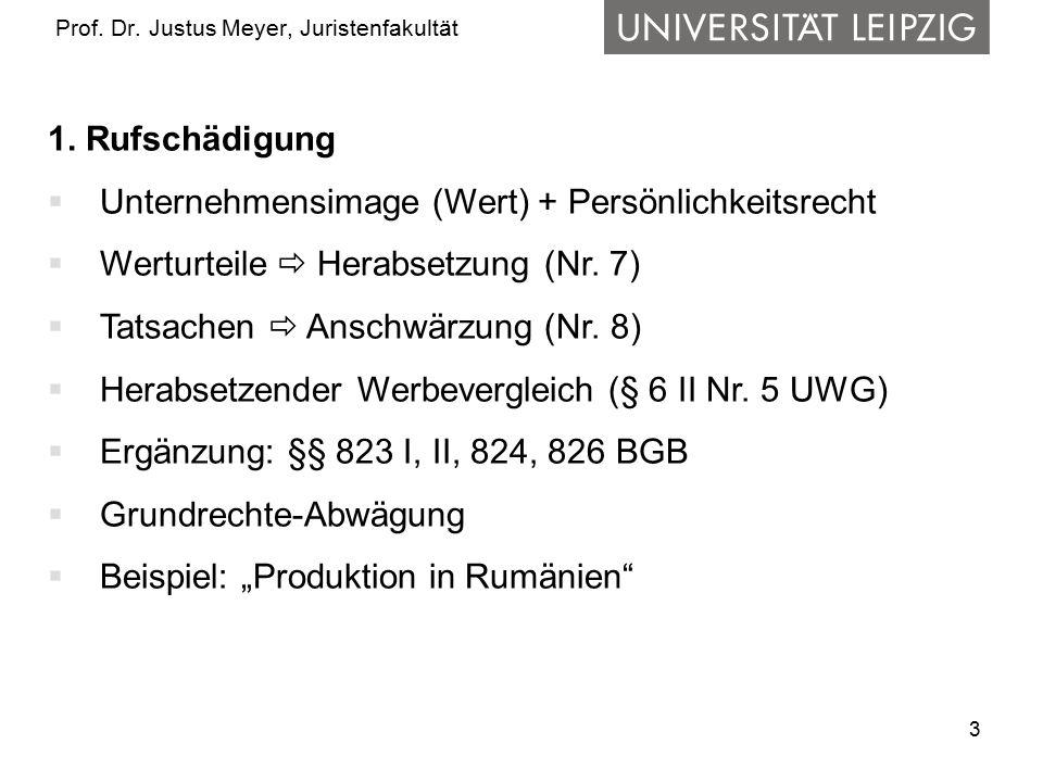 3 Prof.Dr. Justus Meyer, Juristenfakultät 1.