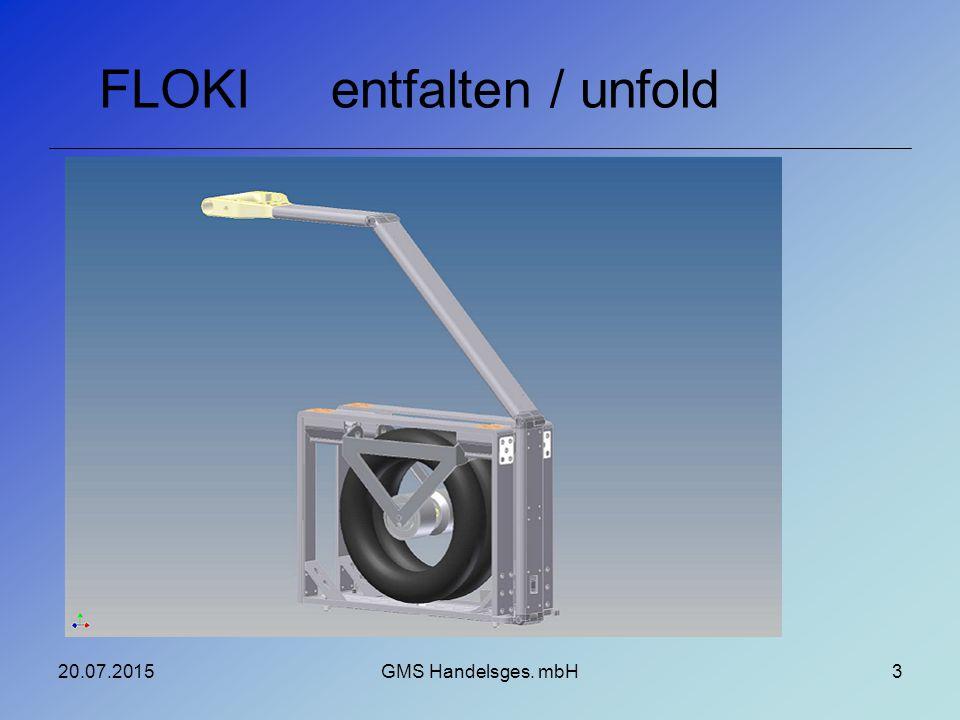 entfalten / unfoldFLOKI 20.07.2015GMS Handelsges. mbH3