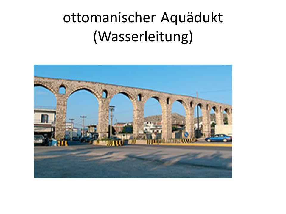 ottomanischer Aquädukt (Wasserleitung)