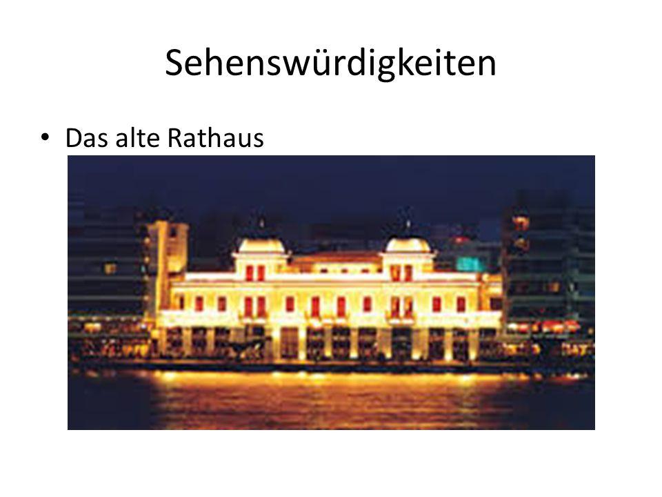 Sehenswürdigkeiten Das alte Rathaus