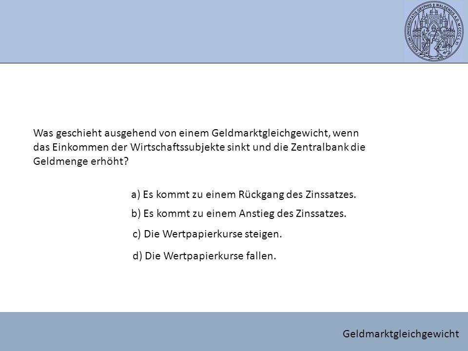 Anpassungsprozess Herleitung LM - Kurve
