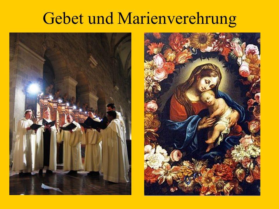 Gebet und Marienverehrung
