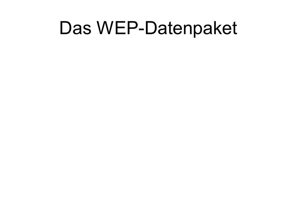 Das WEP-Datenpaket