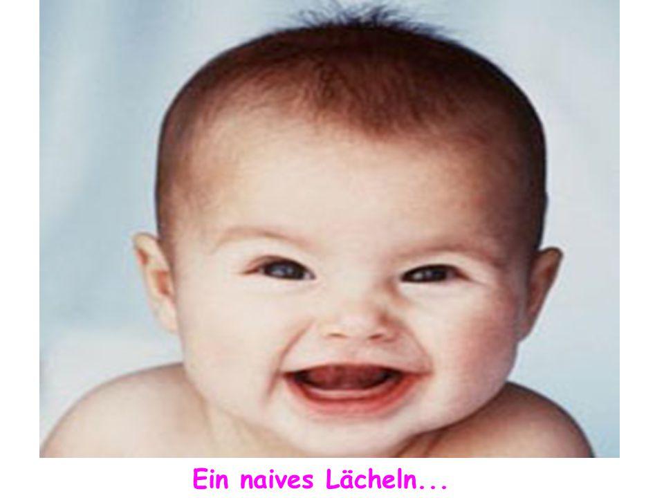 Ein spitzbübisches Lächeln...