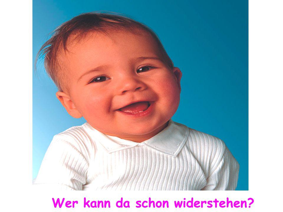 Ein Lächeln mit einem besonderen Blick...