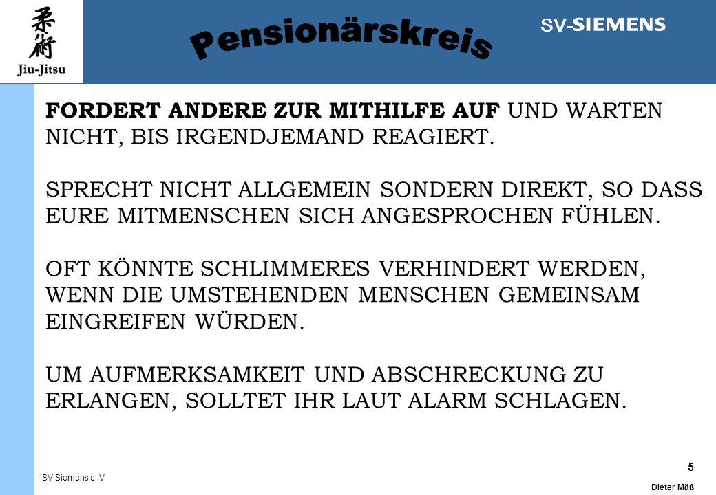 5 Dieter Mäß SV Siemens e.