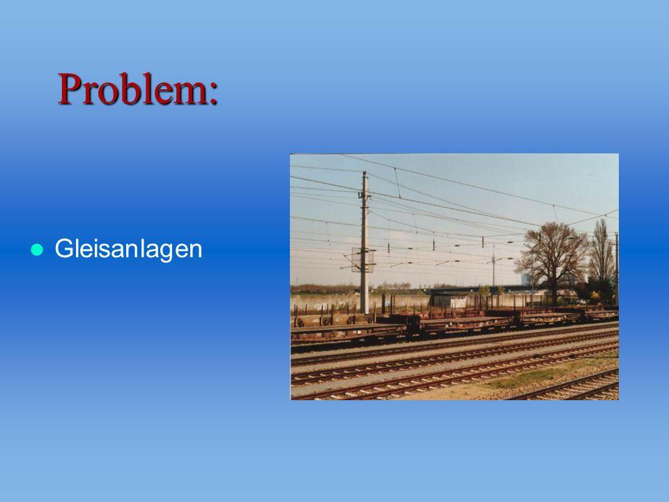 Problem: Gleisanlagen