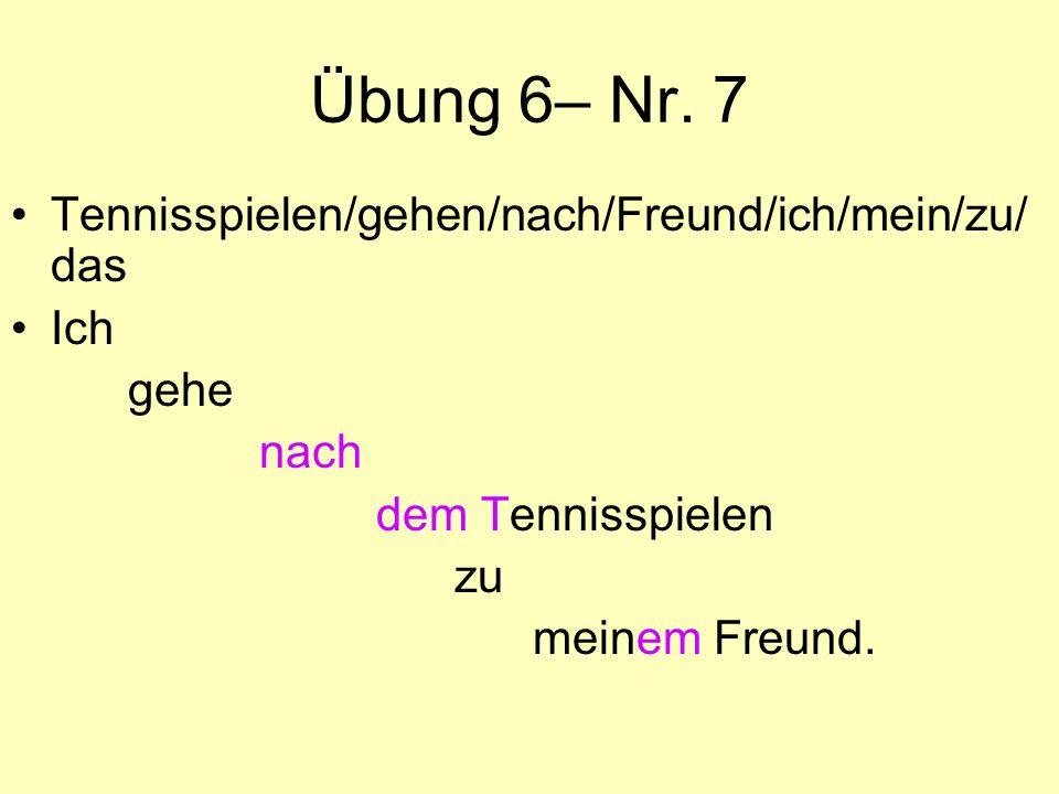 Übung 6– Nr.