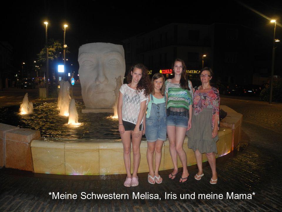 *Meine Schwestern Melisa, Iris und meine Mama*