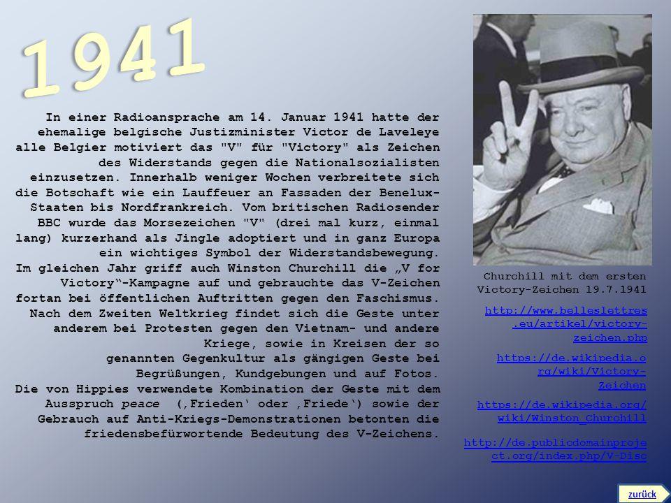 In einer Radioansprache am 14. Januar 1941 hatte der ehemalige belgische Justizminister Victor de Laveleye alle Belgier motiviert das