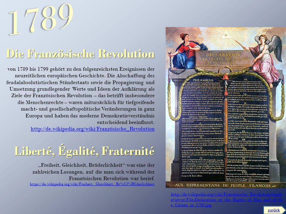 http://de.wikipedia.org/wiki/Französische_Revolution#medi aviewer/File:Declaration_of_the_Rights_of_Man_and_of_th e_Citizen_in_1789.jpg Die Französisc