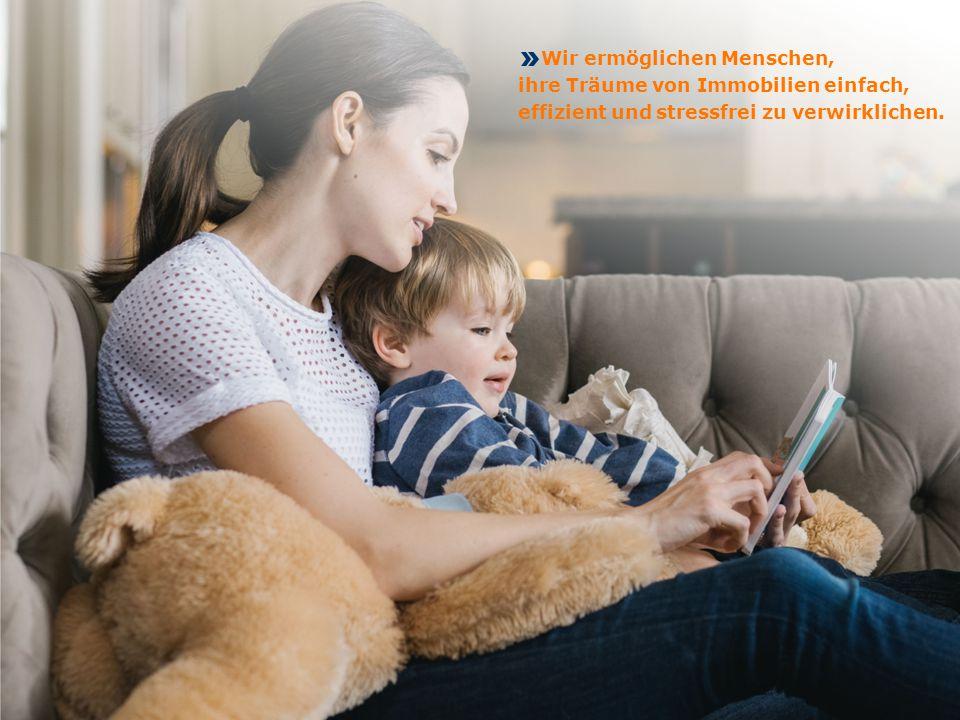 Unternehmenspräsentation | Brand Marketing Seite 2 Wir ermöglichen Menschen, ihre Träume von Immobilien einfach, effizient und stressfrei zu verwirkli