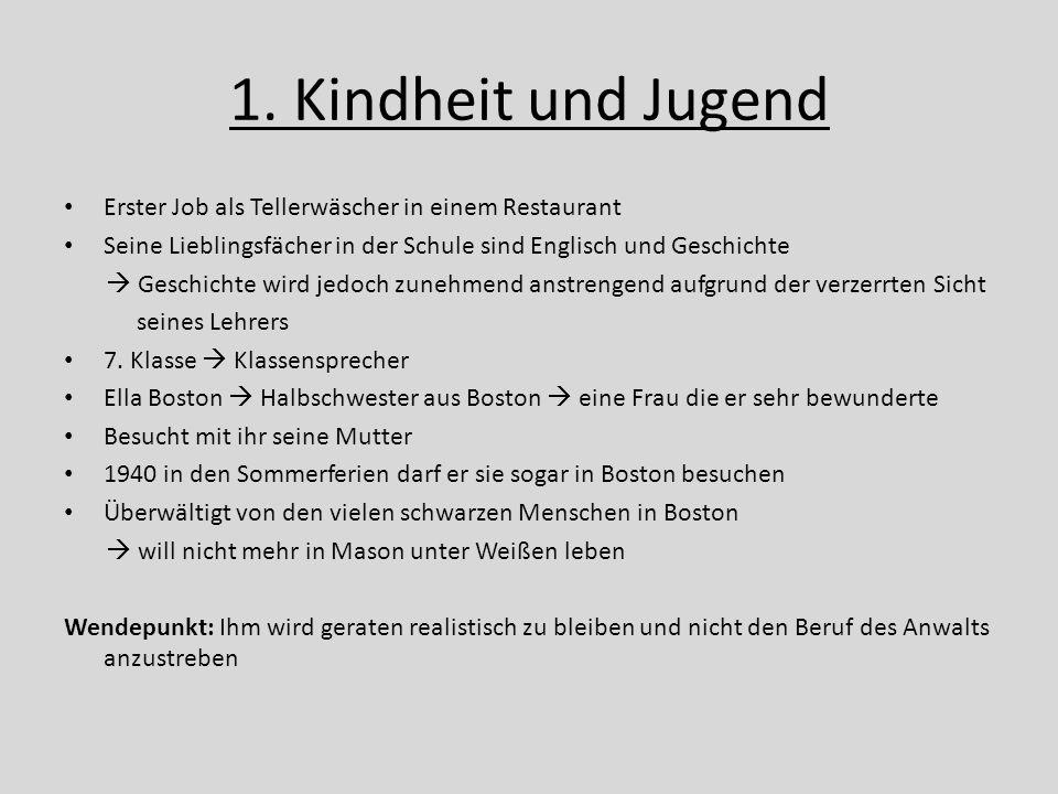 1.Kindheit und Jugend Nach der 8.