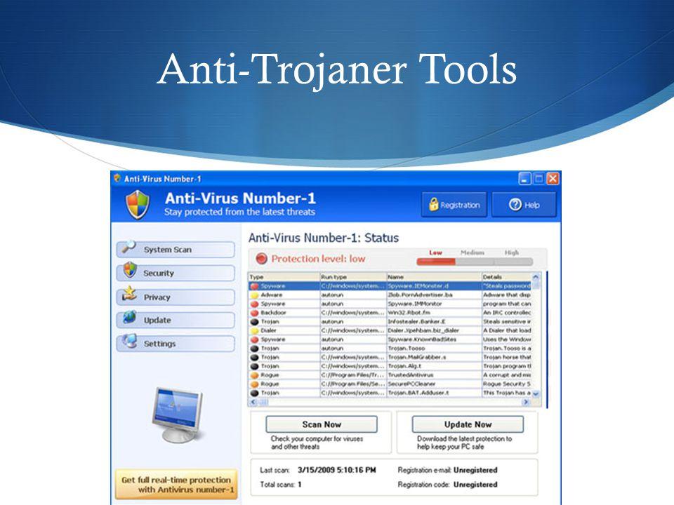 Anti-Trojaner Tools