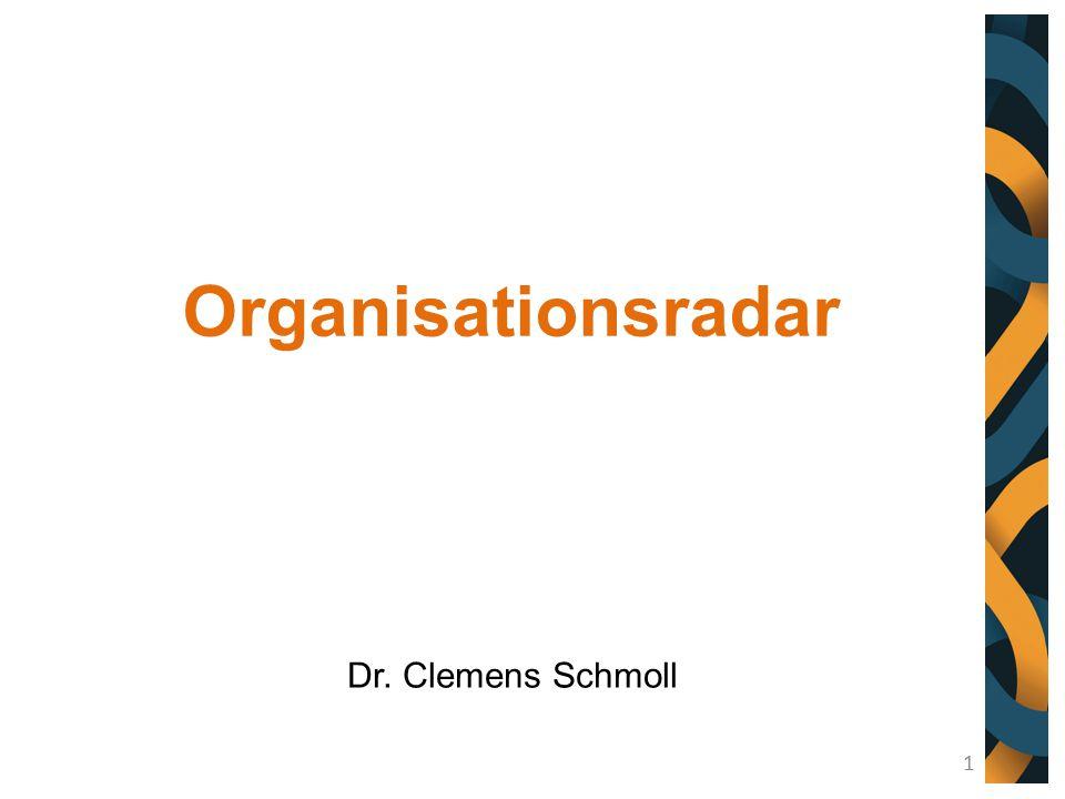 Organisationsradar Dr. Clemens Schmoll 1