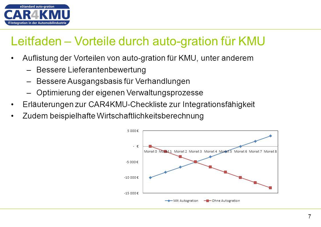 Konnektoren Übersicht auto-gration Konnektor –http://con-ag.rotas-as.net/autogrationhttp://con-ag.rotas-as.net/autogration –http://con-ag.rotas-as.net/autogration/serviceshttp://con-ag.rotas-as.net/autogration/services –http://con-ag.rotas-as.net/autogration/services/CarSimpleConnectorApi?wsdlhttp://con-ag.rotas-as.net/autogration/services/CarSimpleConnectorApi?wsdl Rotas iXSuite Konnektor –http://con-rotas.rotas-as.net/rotas360/WebHandler.ashxhttp://con-rotas.rotas-as.net/rotas360/WebHandler.ashx –http://con-rotas.rotas-as.net/ag-supplier/http://con-rotas.rotas-as.net/ag-supplier/ Demonstrator Anfragen und Bestellen –http://car4kmu.rotas-as.nethttp://car4kmu.rotas-as.net Provider - auto-gration Plattform –https://ixsuite.rotas-as.net/https://ixsuite.rotas-as.net/ Car4Ease Demonstrator 18