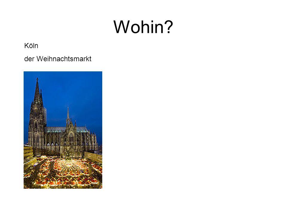 Köln der Weihnachtsmarkt