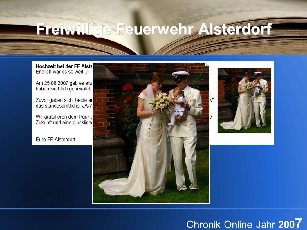 Freiwillige Feuerwehr Alsterdorf Chronik Online Jahr 200 7