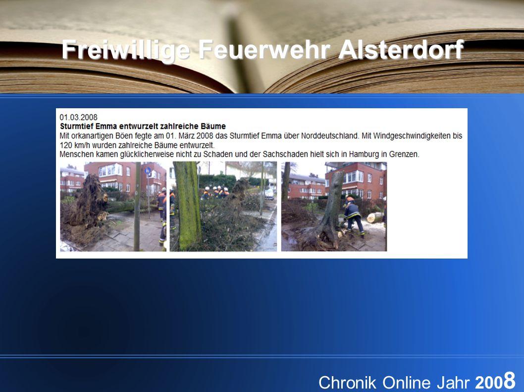 Freiwillige Feuerwehr Alsterdorf Chronik Online Jahr 200 8