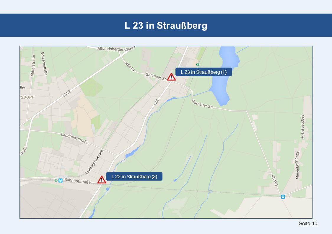 Seite 10 L 23 in Straußberg L 23 in Straußberg (1) L 23 in Straußberg (2)