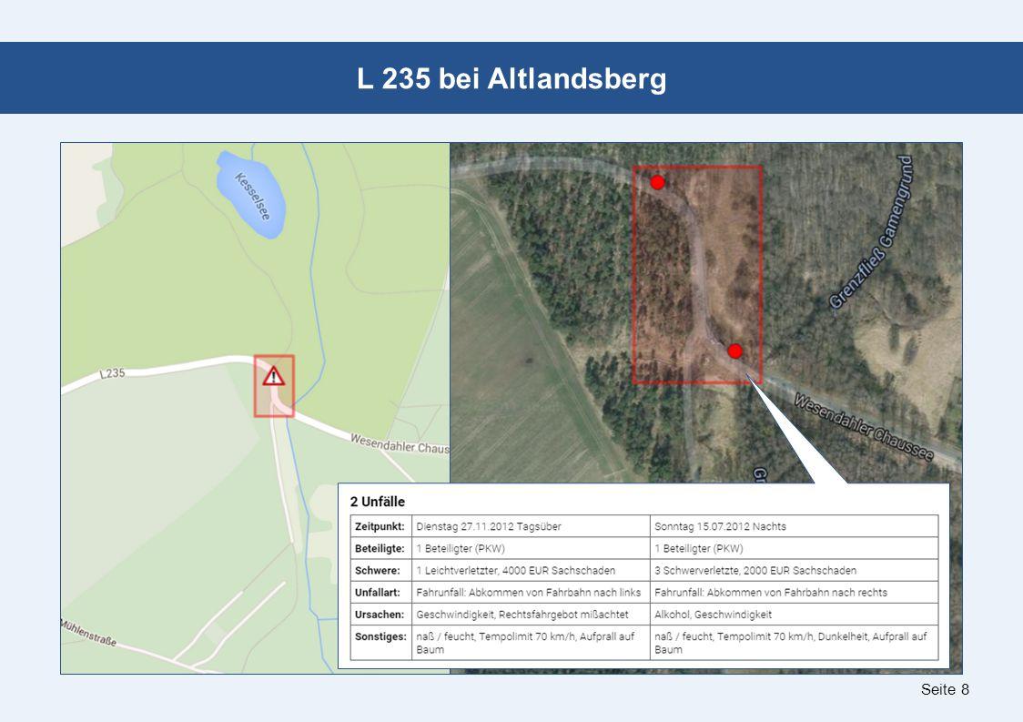 Seite 8 L 235 bei Altlandsberg