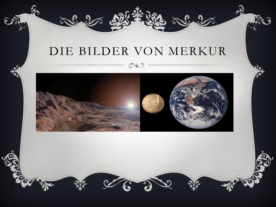 GOTT MERCURIUS Der Merkur trägt den Namen des römischen Götterboten (griechisch: Hermes).