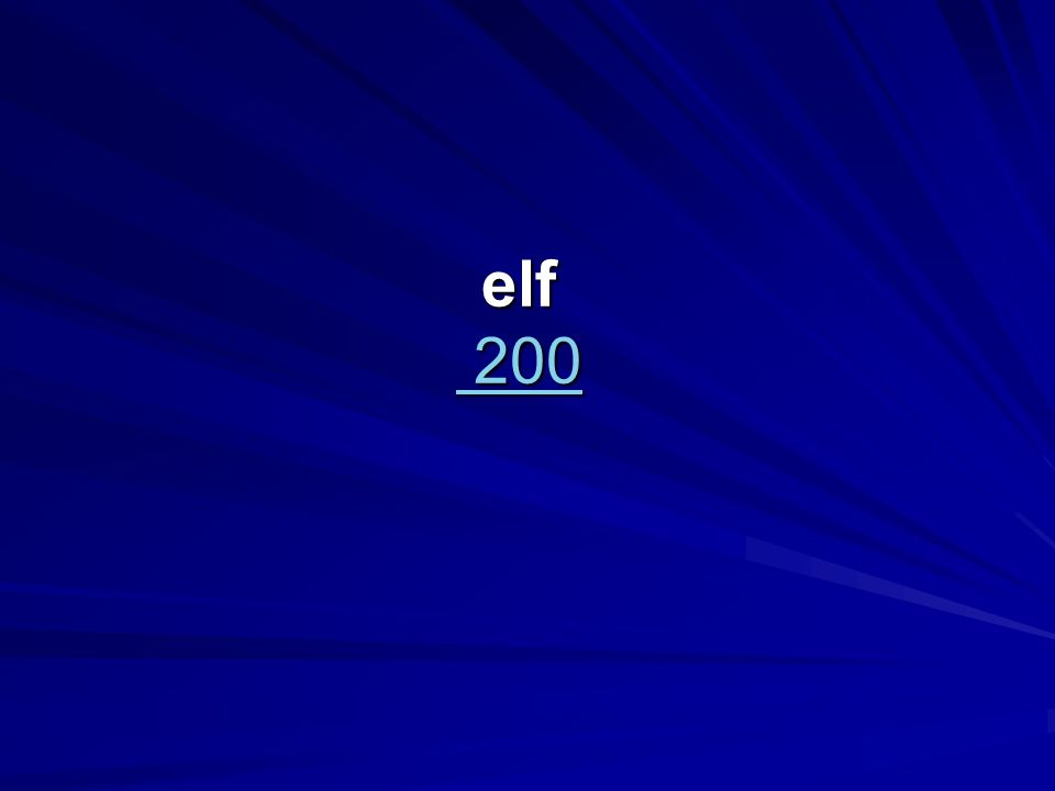 elf 200 200 200