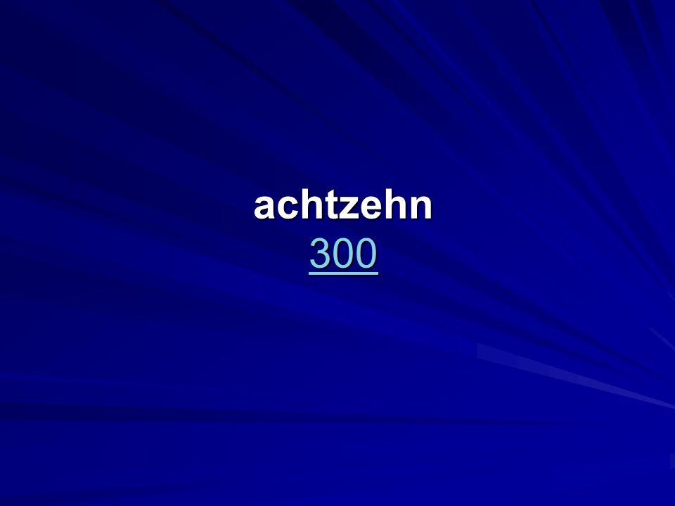 achtzehn 300 300