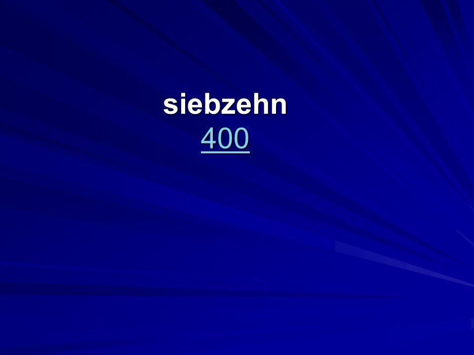 siebzehn 400 400