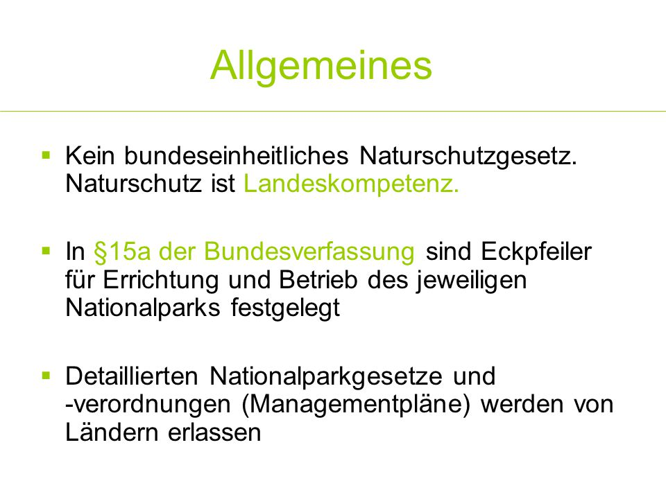 Beiräte Wiener und NÖ Nationalpark-Beirat  Bestellung der M.