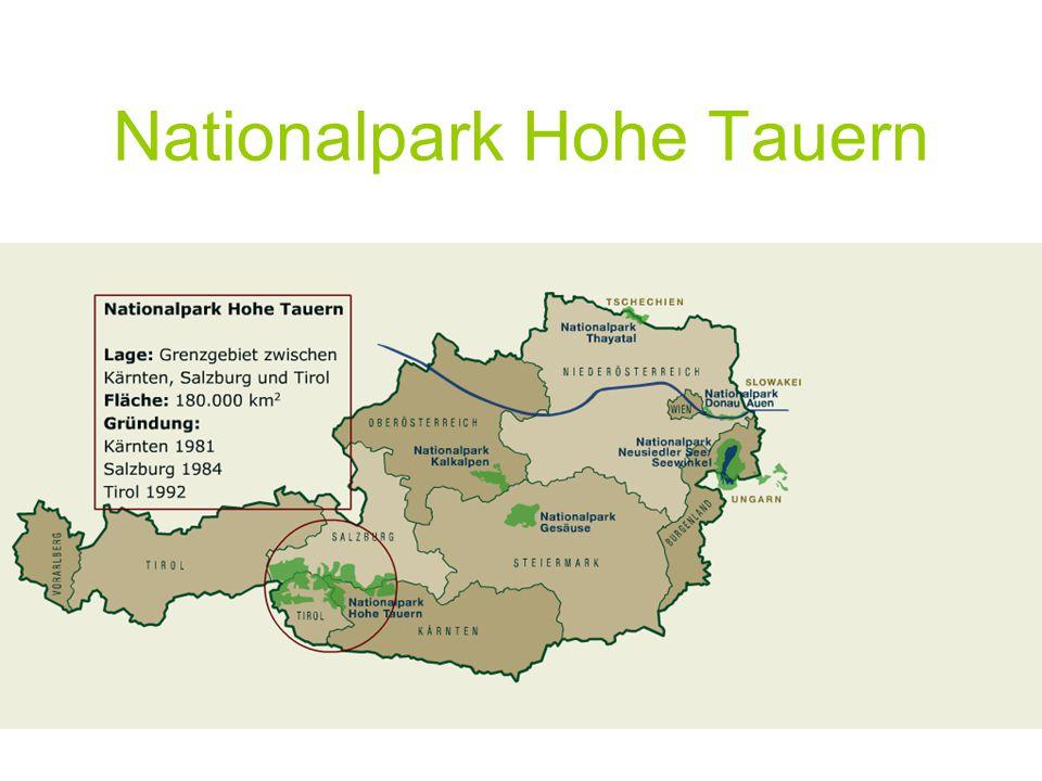 Organisation NP Hohe Tauern