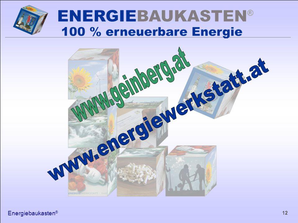 Energiebaukasten ® 12