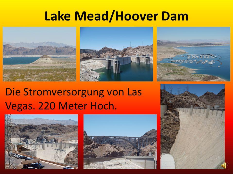 Lake Mead/Hoover Dam Die Stromversorgung von Las Vegas. 220 Meter Hoch.