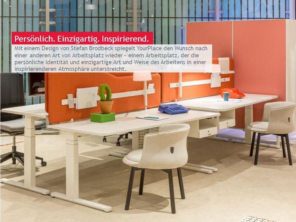 March 13th 2014 | Berlin Mit einem Design von Stefan Brodbeck spiegelt YourPlace den Wunsch nach einer anderen Art von Arbeitsplatz wieder – einem Arb