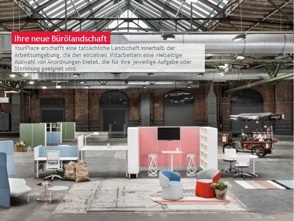 March 13th 2014 | Berlin YourPlace erschafft eine tatsächliche Landschaft innerhalb der Arbeitsumgebung, die den einzelnen Mitarbeitern eine vielseiti