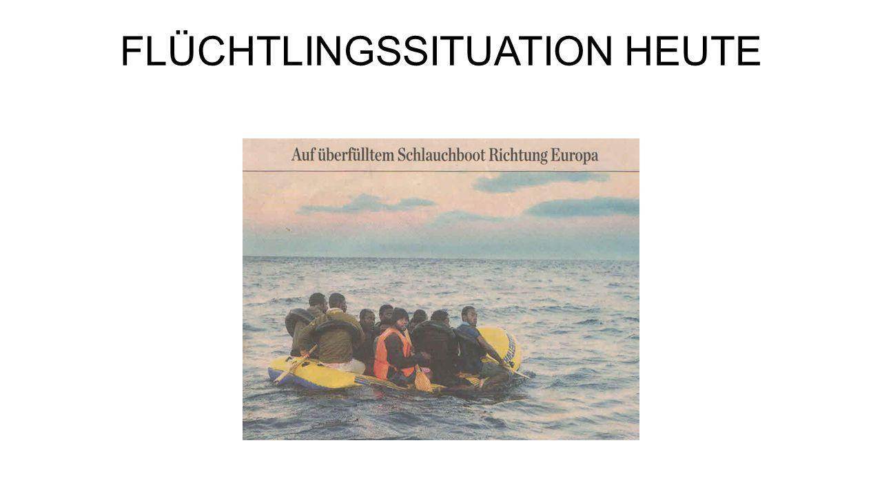 FLÜCHTLINGSSITUATION HEUTE