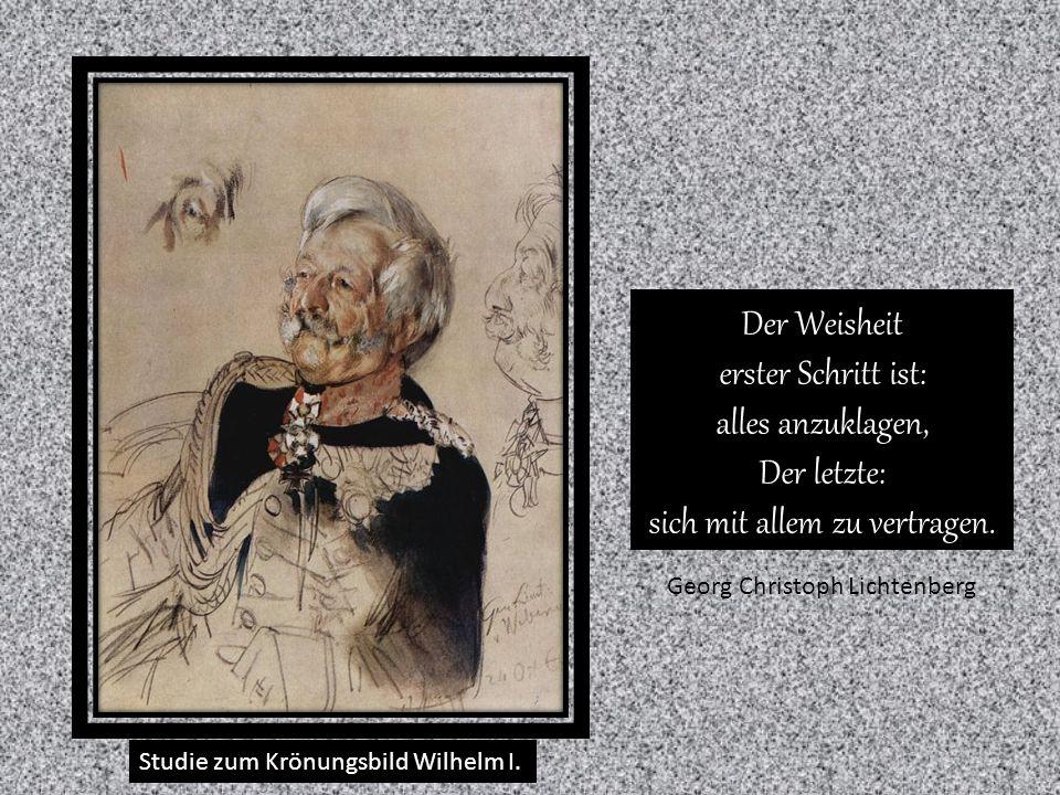 Staatsminister Freiherr von Schleinitz Kein gutes Buch oder irgendetwas Gutes zeigt seine gute Seite zuerst.