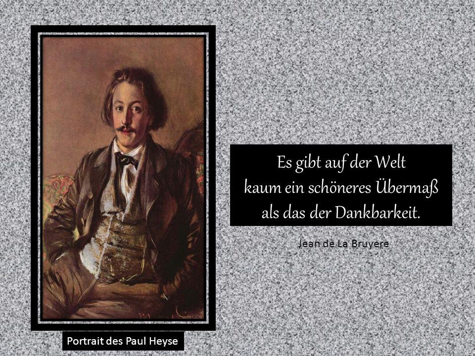Portrait des Carl Johann Arnold Liebe besteht nicht darin, dass man einander ansieht, sondern gemeinsam in die gleiche Richtung blickt.