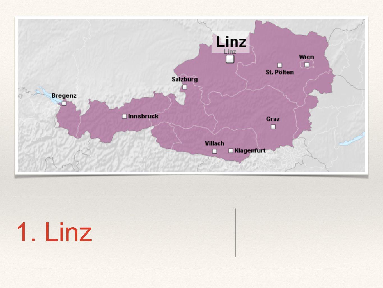 1. Linz